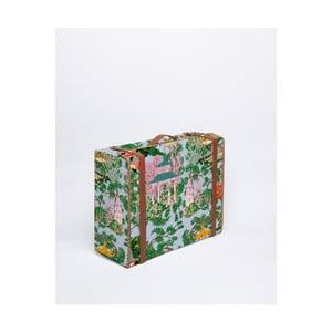 Kufr Surdic Valise Chineserie s čínským motivem, 31 x 40 cm