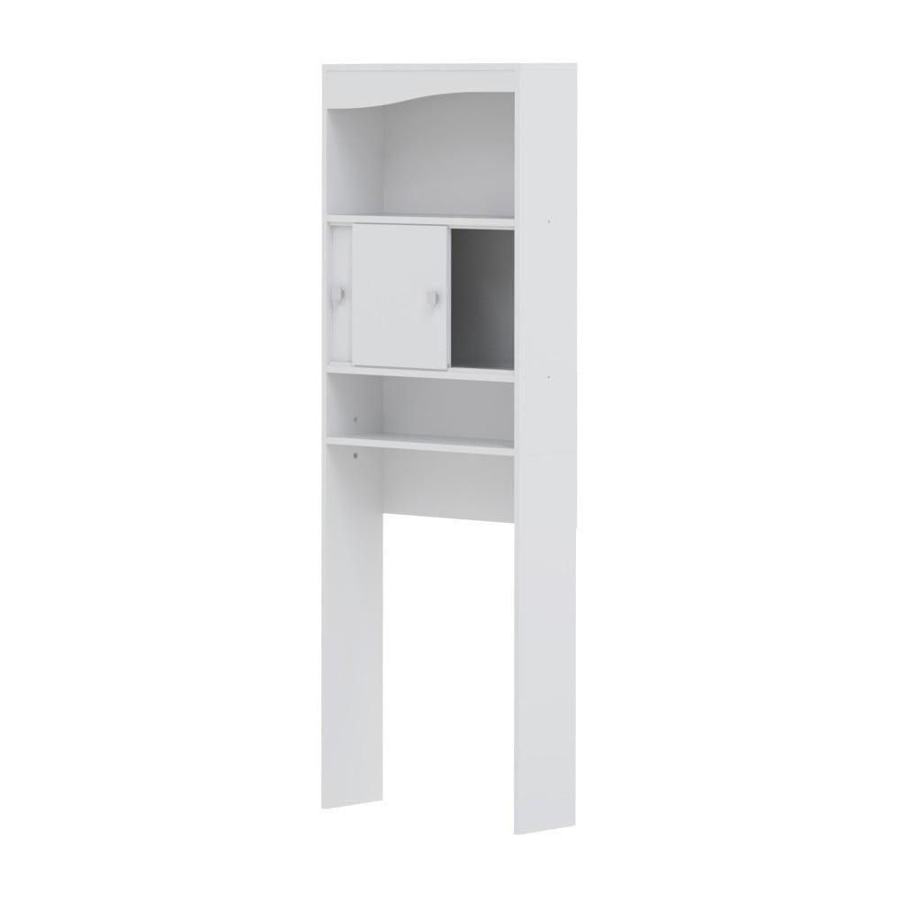 Bílá koupelnová skříňka nad pračku Symbiosis André,šířka60cm
