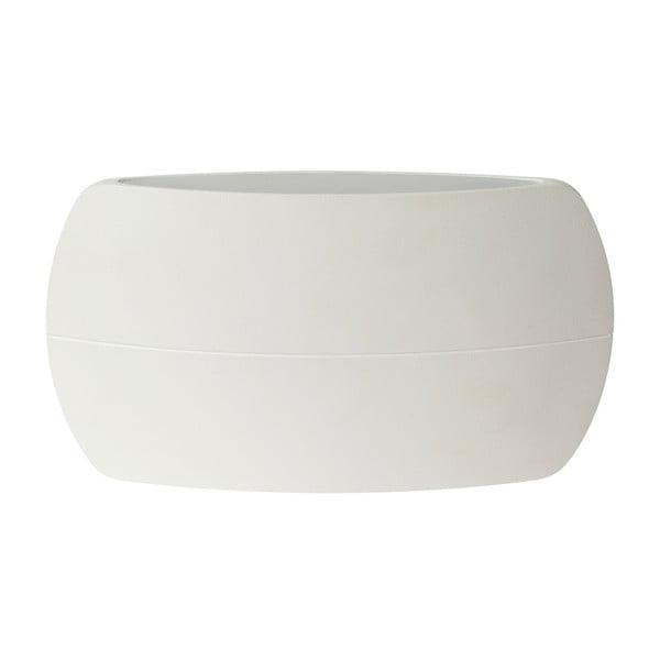 Biały kinkiet SULION New Era, 20x11 cm