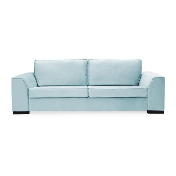Canapea cu 3 locuri Vivonita Bronson, albastru deschis