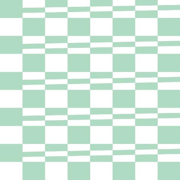 Tapeta Squarestripe Pastelgreen
