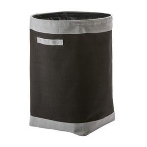 Černý koš na prádlo Aquanova Yvar,Ø50cm