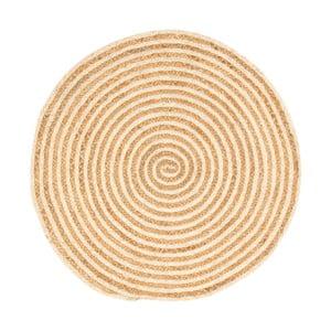 Koberec z konopného vlákna Cotex Rondo, ø 140 cm