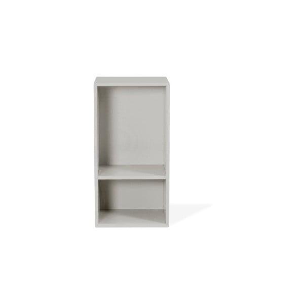 Světle šedá police Tenzo Z Halfcube, 36x70cm