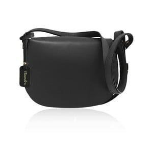 Černá kožená kabelka Maison Bag Dallas