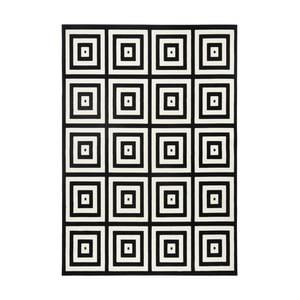 Černošedý koberec Zala Living Duola, 140x200cm