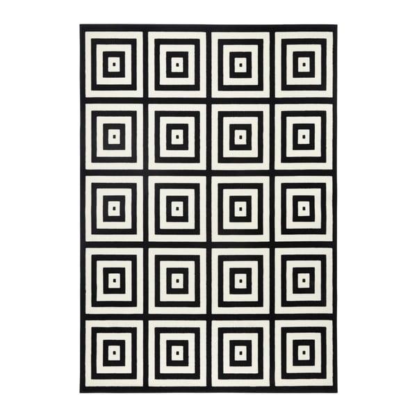 Covor Zala Living Duola, 70 x 140 cm, negru - gri