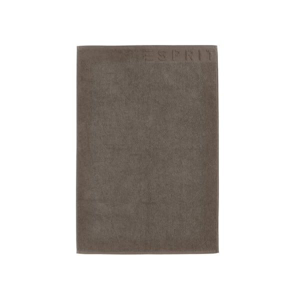 Koupelnová předložka Esprit Solid 60x90 cm, hnědá