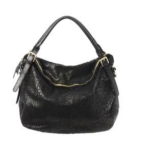 Černá kožená kabelka Tina Panicucci Promo