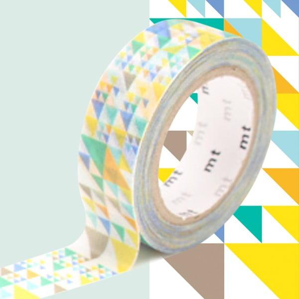 Bandă decorativă Washi MT Masking Tape Vivienne, rolă 10 m