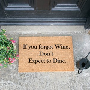 Rohožka Artsy Doormats If You Forgot Wine, 40 x 60 cm