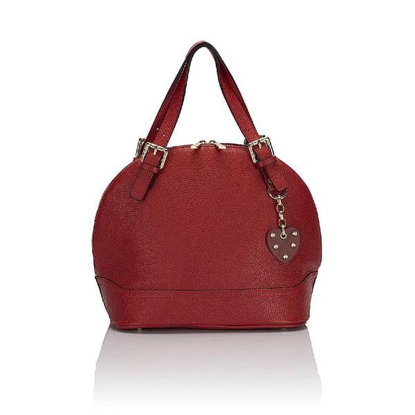 Kožená kabelka Giorgio Costa 5009 Red
