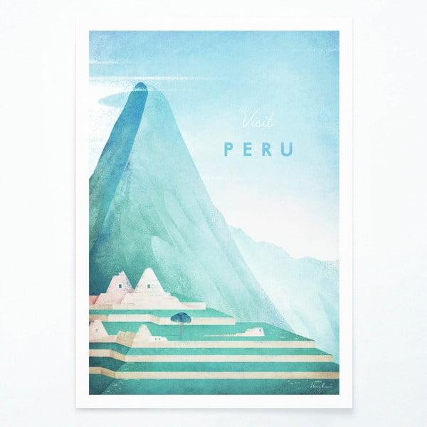 Poster Travelposter Peru, A3