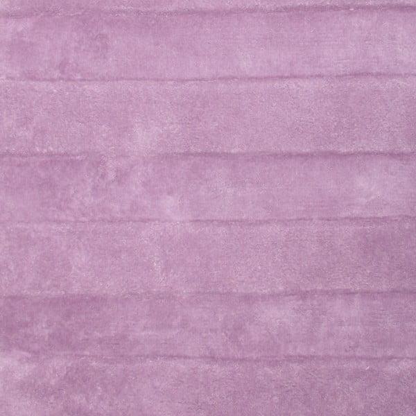 Dětský růžový koberec Bunny, 85x140 cm