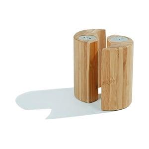 Set din bambus solniță și piperniță Zen